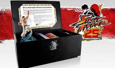 Edição de colecionador de Street Fighter 25 anos da série