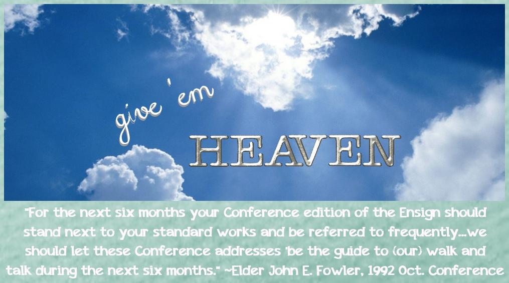 Give 'Em Heaven!