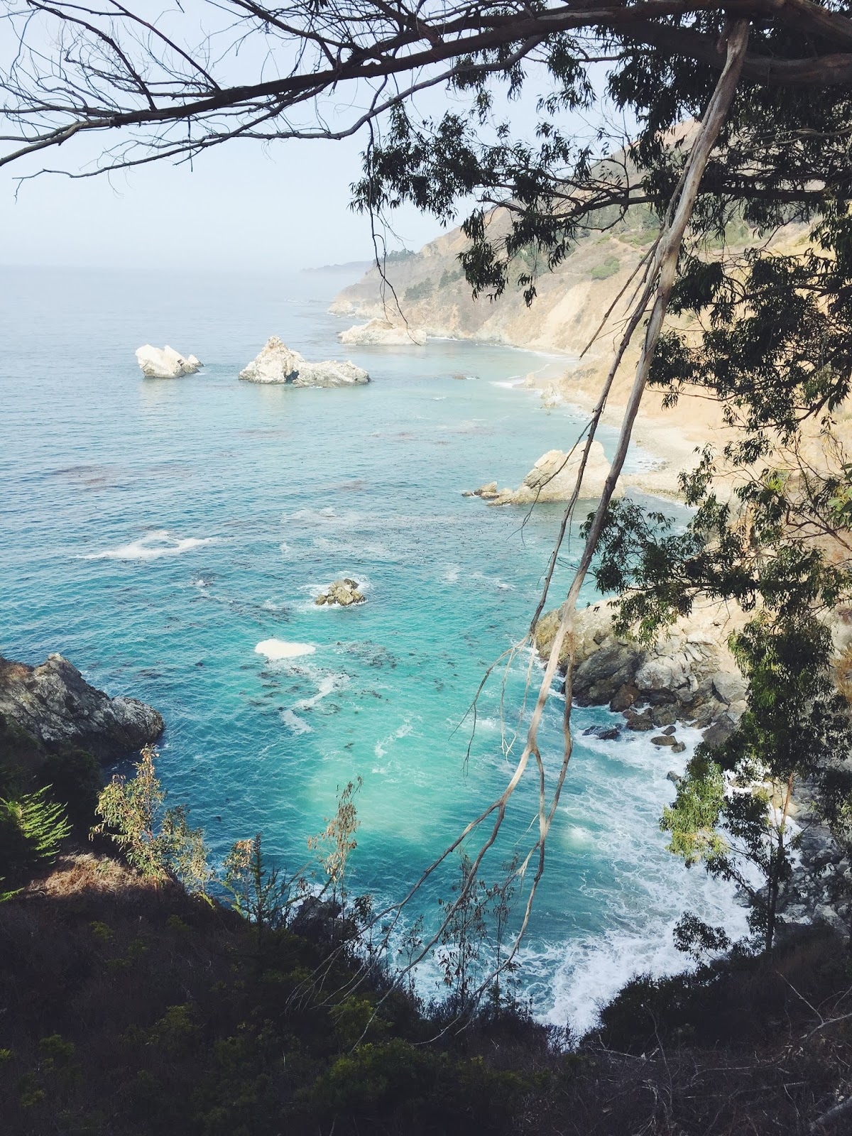 where to visit in big sur, julia pfeiffer state park