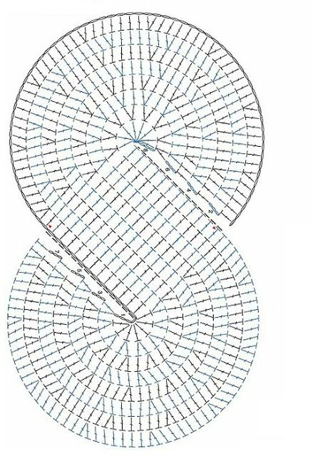 Patrón de bufanda