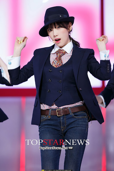 SNSD Taeyeon Mr Mr Live M! Countdown 140306