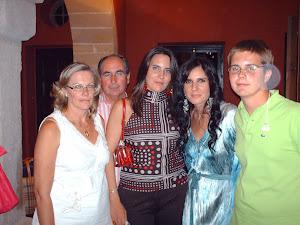 mi familia con Diana Navarro