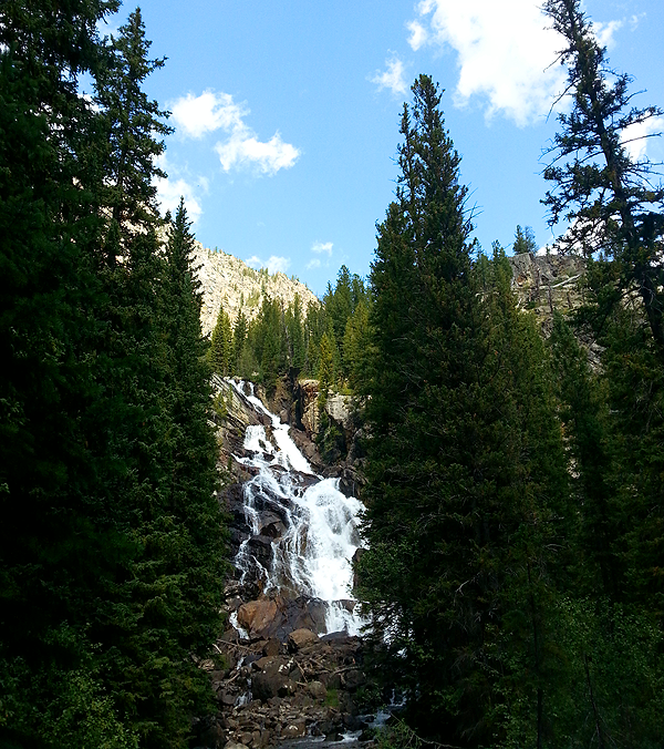 Hidden Falls Jenny Lake