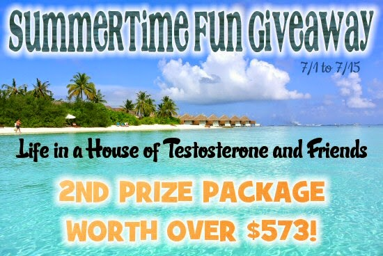 The Second Place Prize Package Contains Prizes Worth Over $573.00