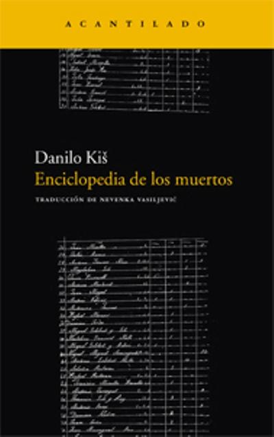 La enciclopedia de los muertos