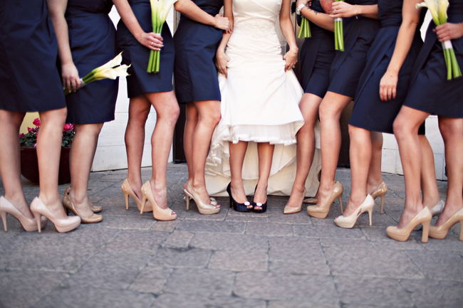 Blue Bridal Shoes - Wedding Plan Ideas