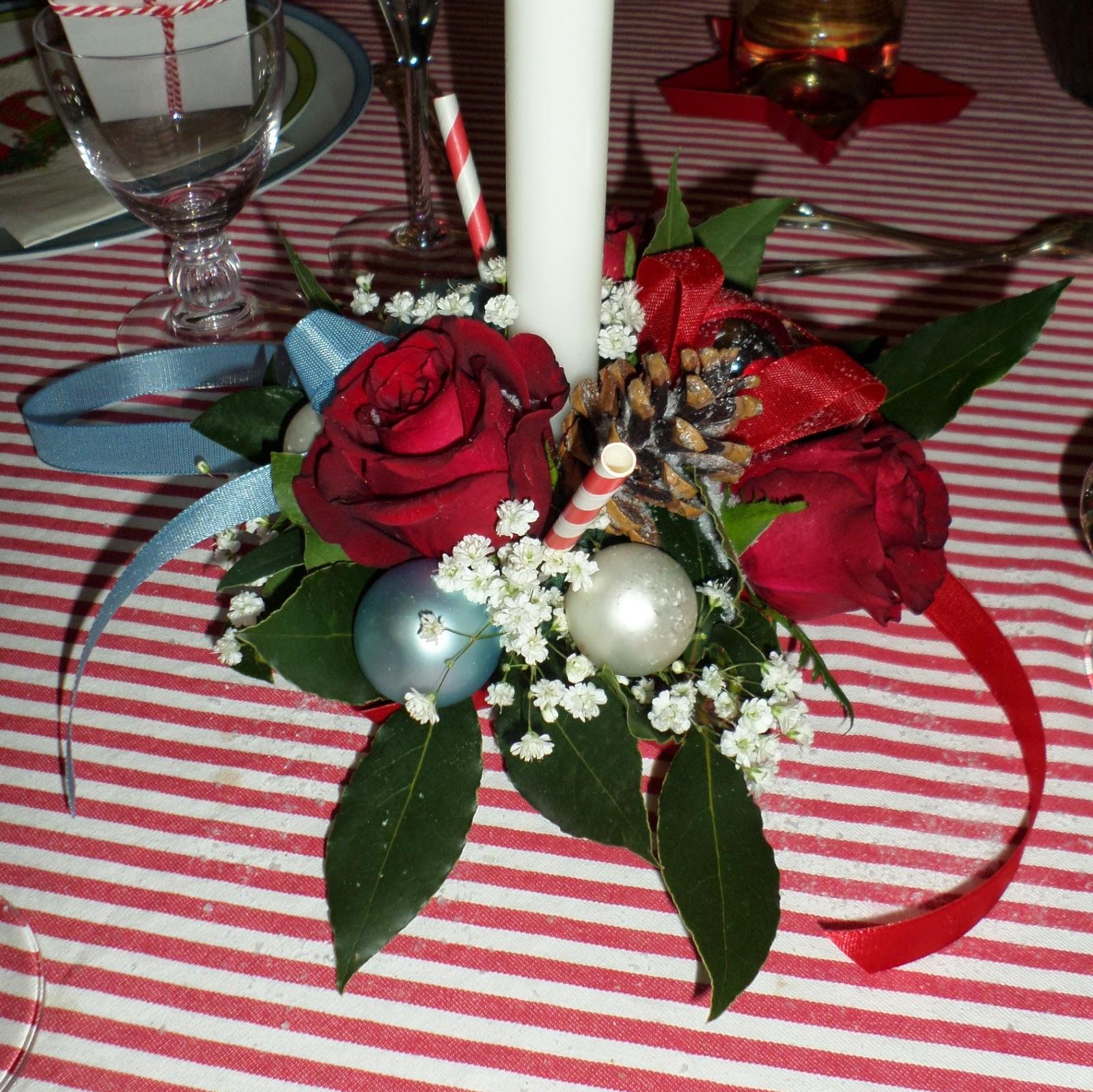 #9D2E3A Bleu Rouge Et Vert : Une Table De St Nicolas Aux Couleurs  6183 decoration de table de noel en rouge et vert 1600x1599 px @ aertt.com