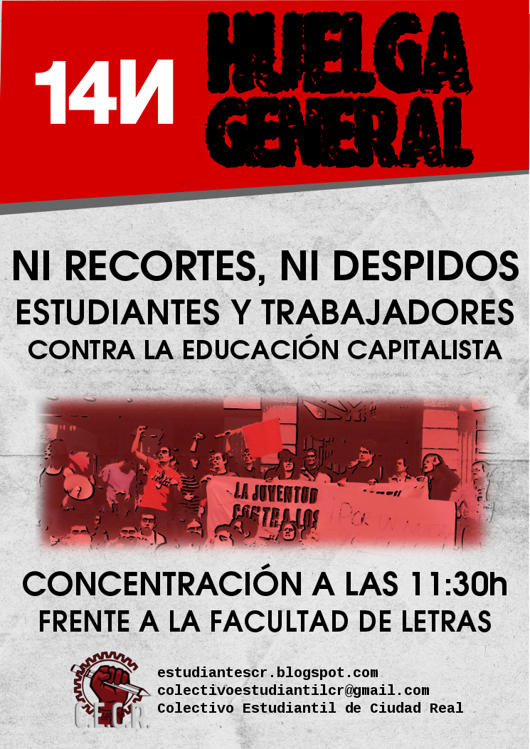 14N HUELGA GENERAL