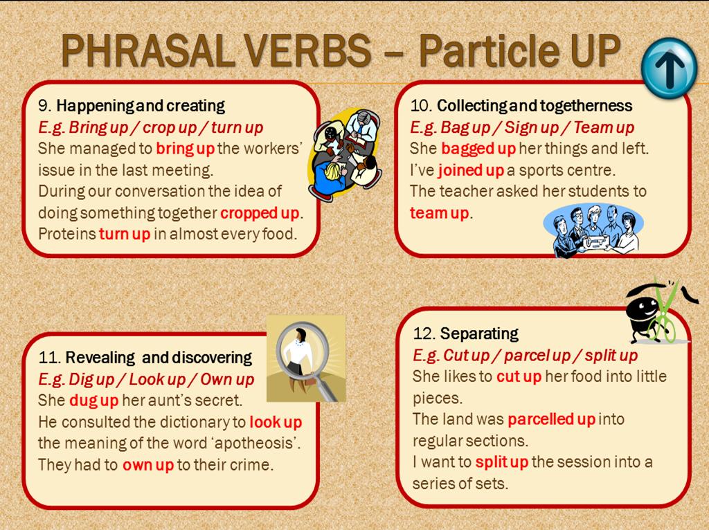 how to learn phrasal verbs easily