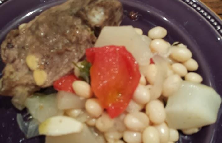 Les recett jo haricot de mouton cuisson l 39 omnicuiseur - Cuisiner poitrine d agneau ...
