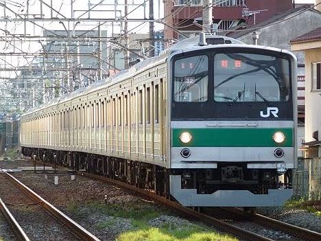 埼京線 各駅停車 新宿行き1 205系