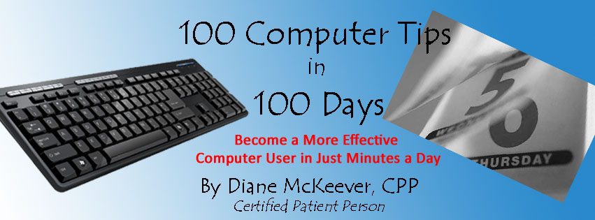 100 Computer Tips in 100 Days