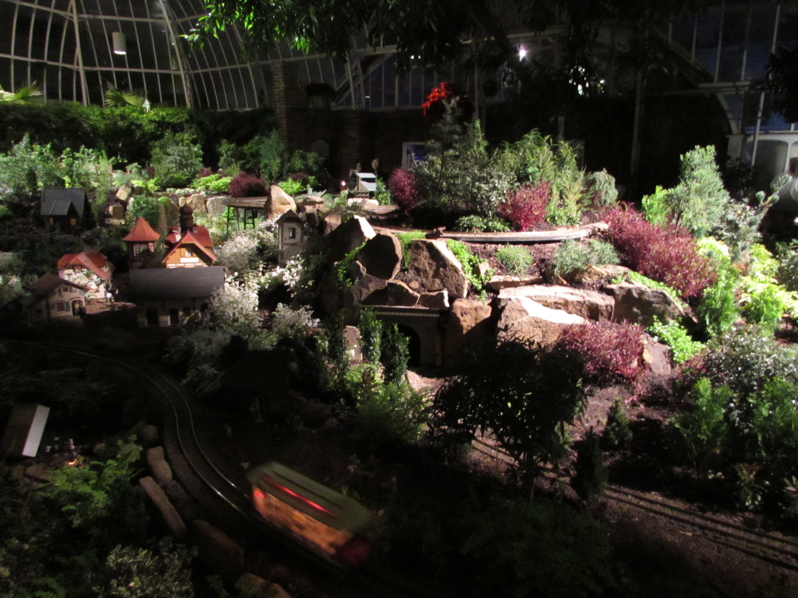 Phipps Conservatory Winter Flower Show Pittsburgh PA - Living room shows
