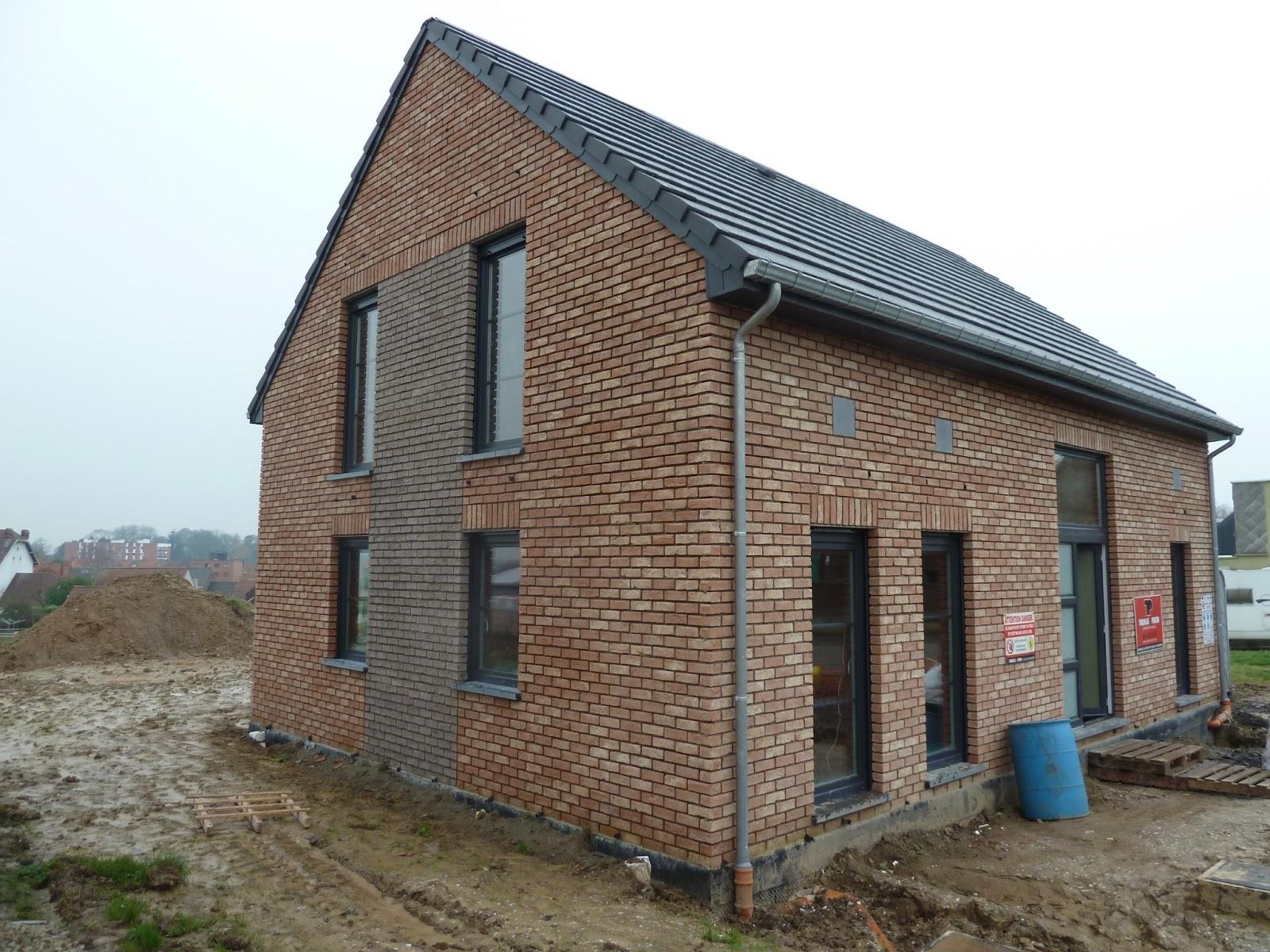 La construction de notre maison rejointoiement et for Construction maison prix raccordement