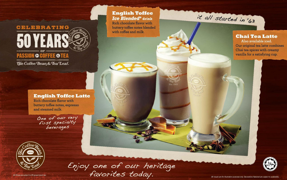 marketing plan the coffee bean and The coffee bean & tea leaf launches new marketing campaign industry news july 15, 2014 the coffee bean & tea leaf continued on its path toward accelerated growth as it launched the most significant and comprehensive advertising campaign in the brand's history.