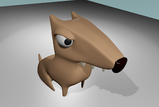 cartoon 3d dog 2