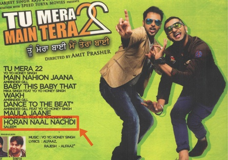Horaan Naal Nachdi Full Video Song - Master Saleem - Tu Mera 22 Main Tera 22