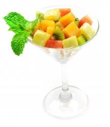 Sencillo cóctel de frutas