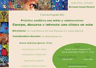 CURSO DE POSTGRADO EN CLÍNICA CON NIÑOS Y ADOLESCENTES ABRIL-NOV 2013