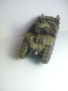 [La escuadra de la semana] Char B1. Impresión 3D