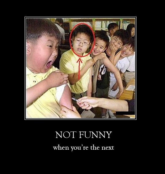 Not Funny - When You're The Next