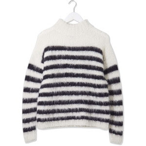 The stripe knitted jumper by Boutique from Topshop