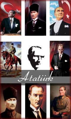 Atatürk Slayt Gösreri 240x400