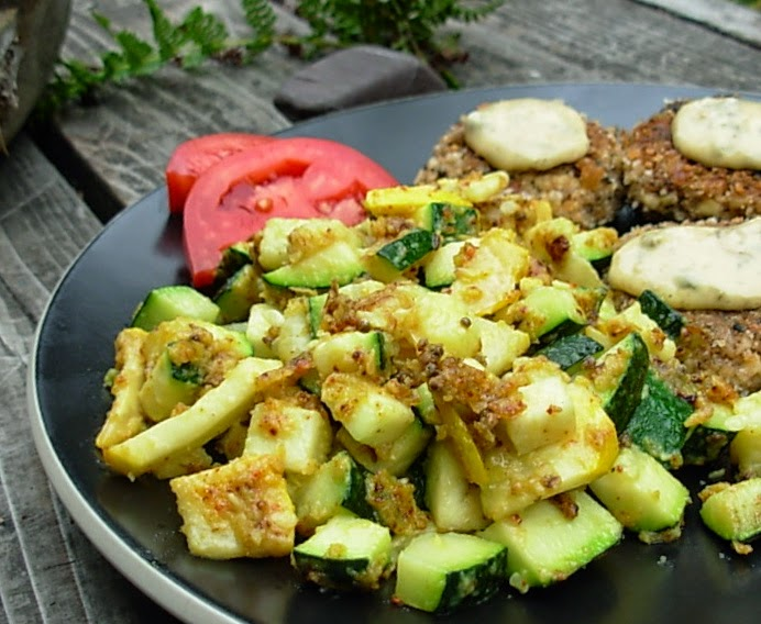how to cook zucchini indian style