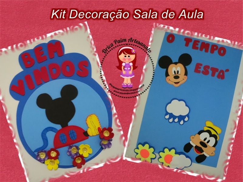 Kit Decoracao Sala De Aula