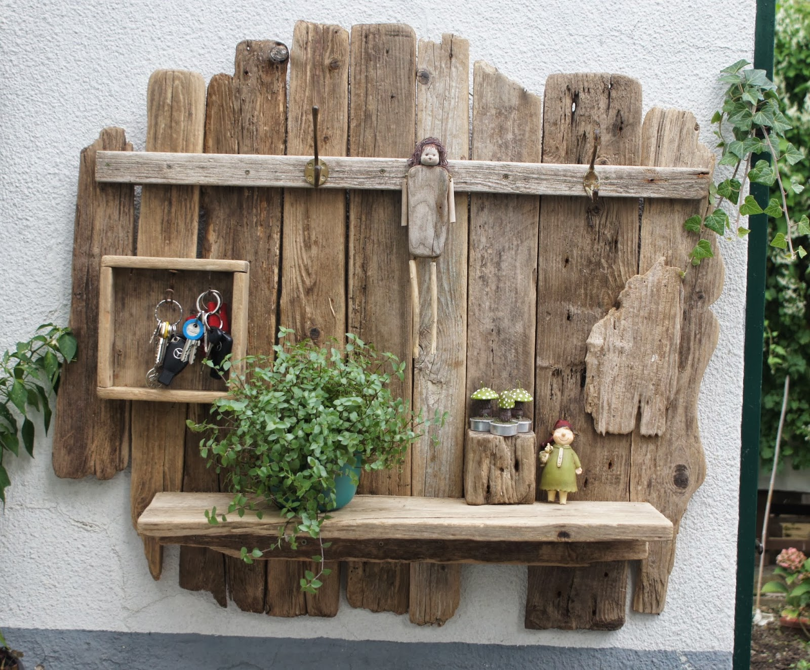 Baumstamm Weihnachtsdeko : Mandagoras World: Treibholz