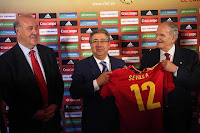 El 3 de junio de 2012 en el estadio de la Cartuja el último partido de la selección española antes de la Eurocopa 2012