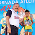 Cientos de menores participaron en la Segunda Jornada Atlética D.A.R.E. 2014