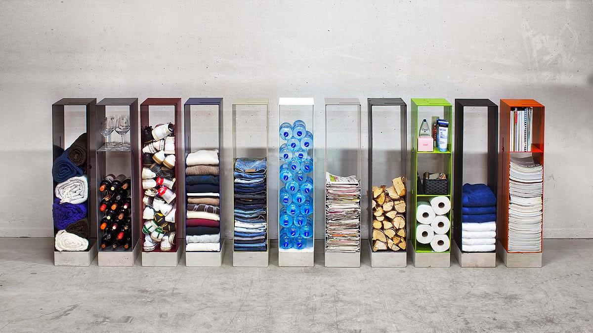 Muebles pr cticos por la decoradora experta 3 muebles para un cuarto de lavadora - Estanterias modernas de pared ...