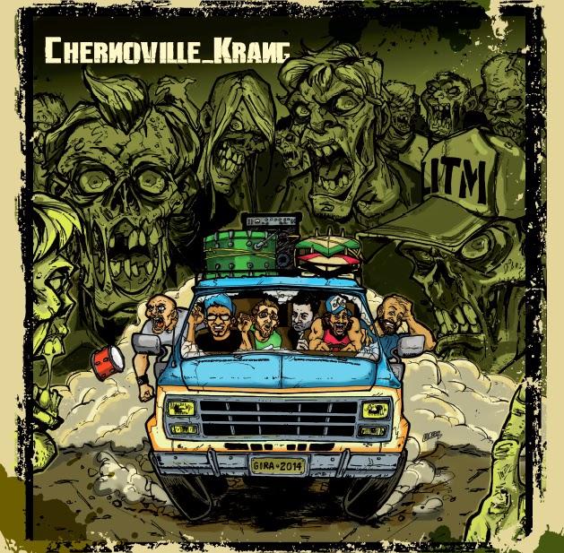 """CHERNOVILLE / KRANG Split 10"""""""