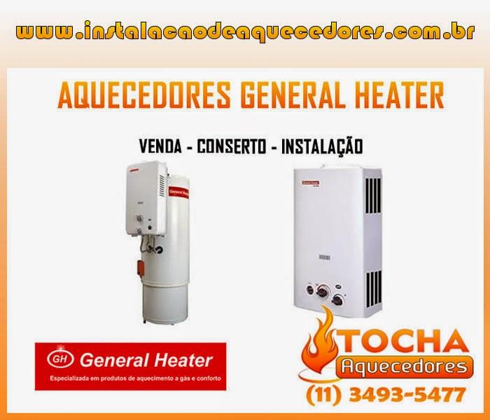 Instalação Aquecedor General Heater