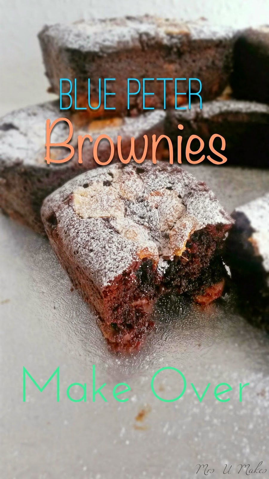 Blue Peter Brownies by Mrs U Makes