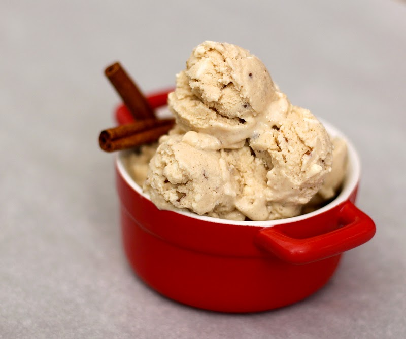 Healthy Butter Pecan Ice Cream - Desserts with Benefits
