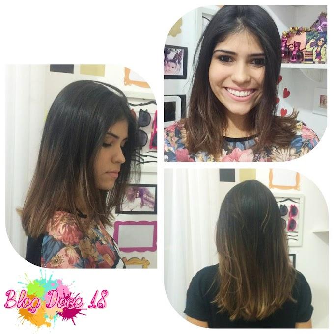 Mudança de Visual: Meu novo cabelo!