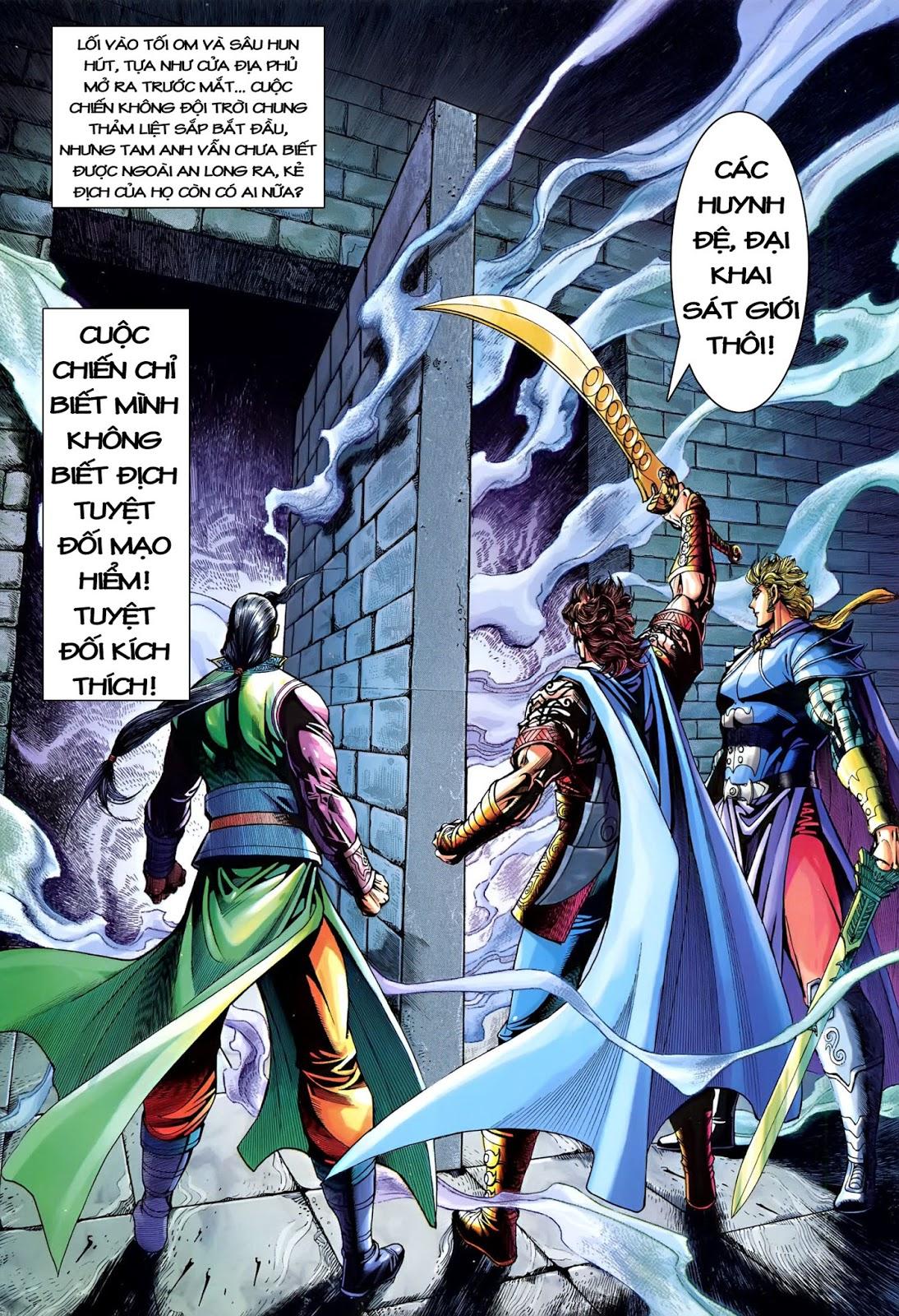 Đại Đường Song Long Truyện chap 216 - Trang 34
