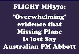 FLIGHT MH370 LOST: