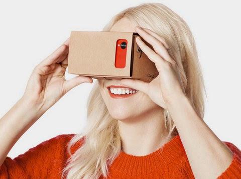 Google VR Realidad Virtual Cardboard
