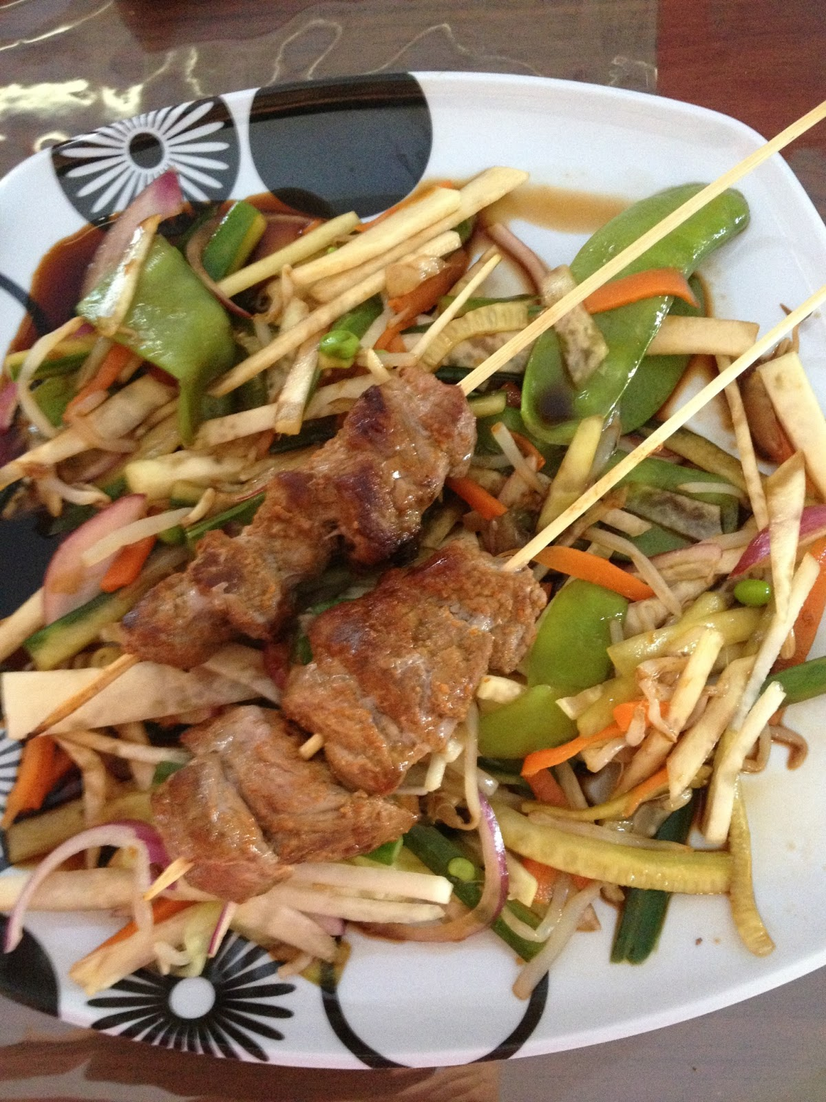 ... skewers with spicy vietnamese sirloin skewers with spicy carrot salad