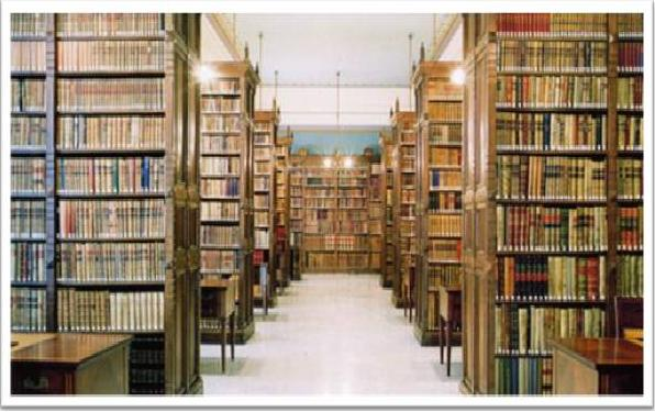 Entre mil letras libros y cultura la biblioteca sin libros - Estanterias de libros ...
