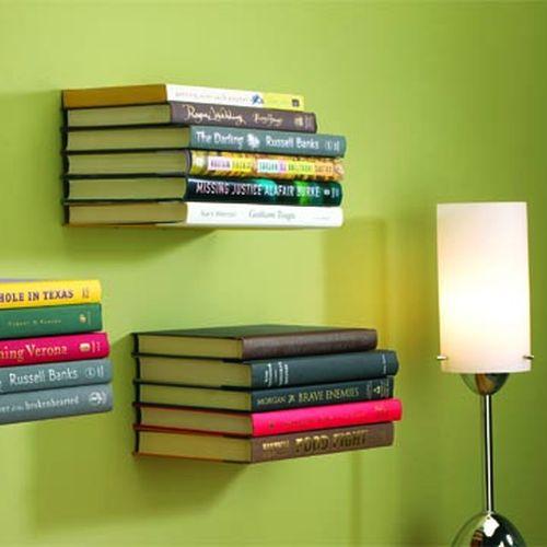 Bibliotecologias decoracion con libros ii for Libros de decoracion