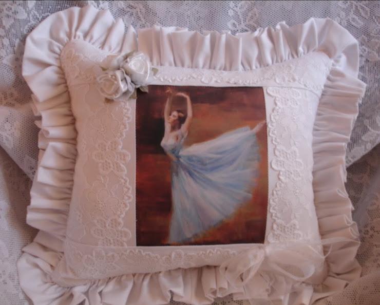 Cuscino ballerina danza classica