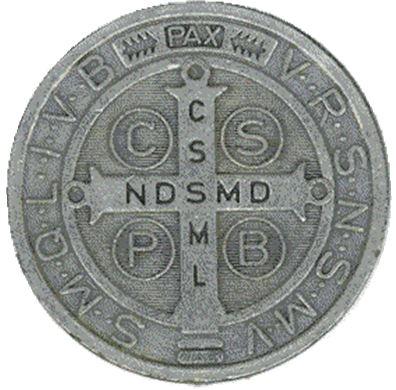 Medalla de San Benito Abad