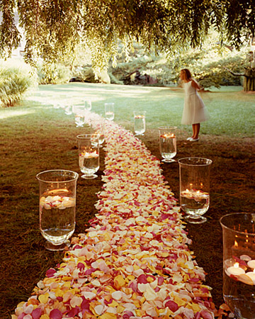 Pink Wedding Reception Decorations