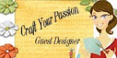 November 2012 Guest Designer for Craft Your Passion