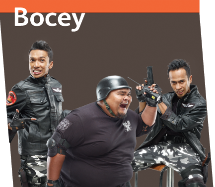Kumpulan Lawak Bocey Bakal Berpecah