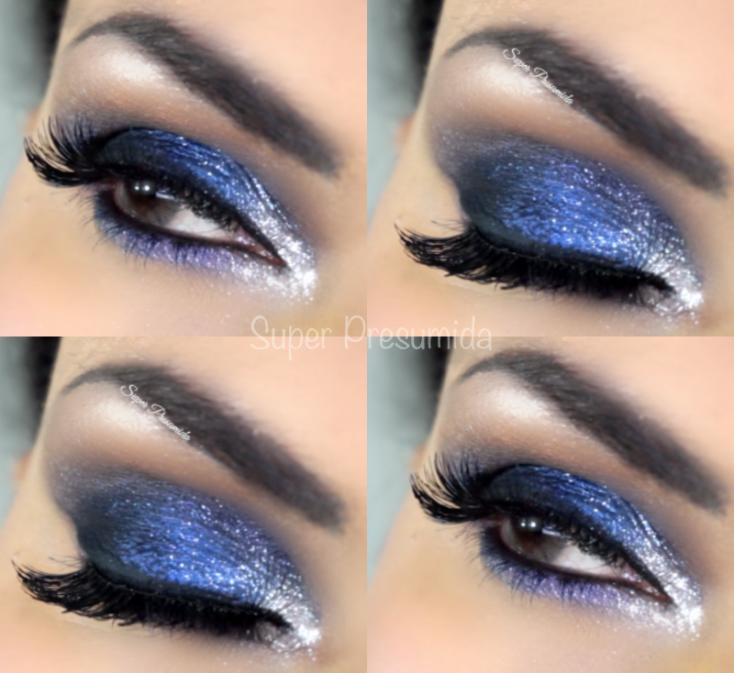 tutorial +azul+petróleo+maquiagem+maquiagem azul+super+presumida+maquiagem azul petróleo, tutorial azul petróleo +shirley+medeiros+super presumida+smokey eyes azul